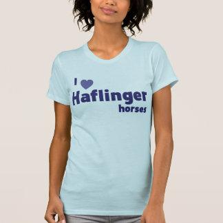 Chevaux de Haflinger T-shirt