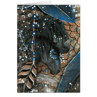Chevaux majestueux de DreamCatcher par la carte de