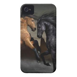 Chevaux sauvages étui iPhone 4
