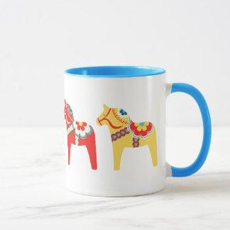 Chevaux suédois mugs