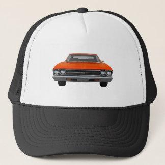 Chevelle 1969 solides solubles : Finition orange Casquette