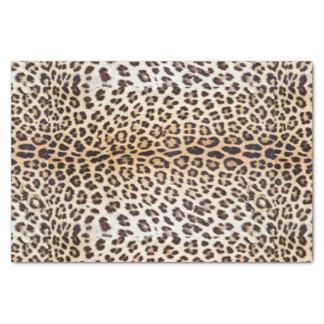 Cheveux de léopard papier mousseline
