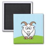 Chèvre de Saanen Magnets Pour Réfrigérateur