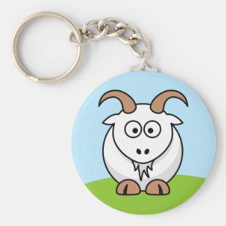 Chèvre de Saanen Porte-clefs