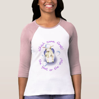 Chèvre drôle de Pâques T-shirt