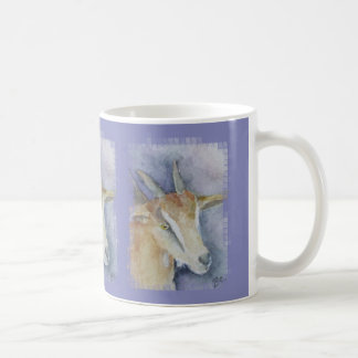 Chèvre/enfant d'aquarelle mug