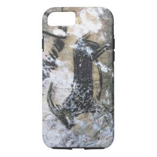 Chèvre ou chamois, peinture de roche dans la salle coque iPhone 7