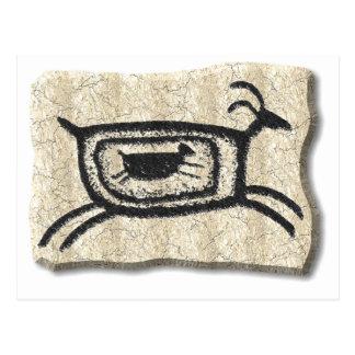 Chèvre-pierre de mère cartes postales