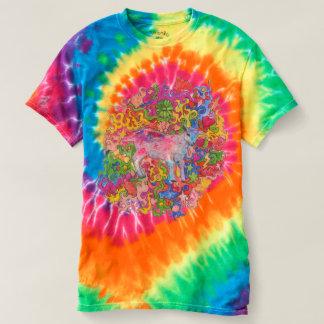 Chèvre psychédélique d'enfant t-shirt