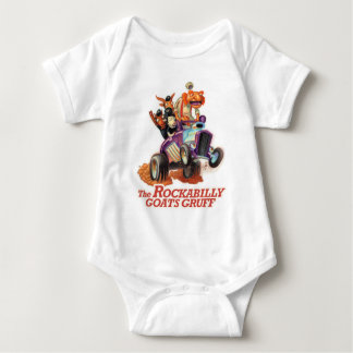 Chèvres de rockabilly bourrues - bébé de t-shirt