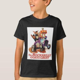 Chèvres de rockabilly bourrues - hot rod Troll T-shirt
