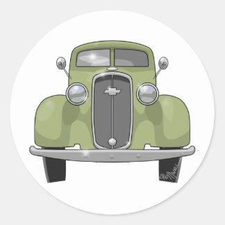 Chevrolet 1928 sticker rond
