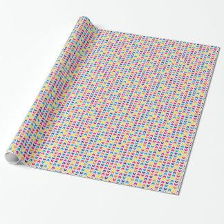 Chevron aztèque coloré papiers cadeaux noël
