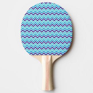 Chevron barre le ping-pong en caoutchouc de rouge raquette de ping pong
