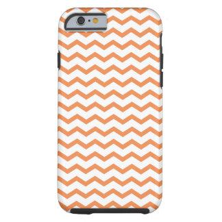 Chevron orange à la mode Pattern.ai Coque Tough iPhone 6