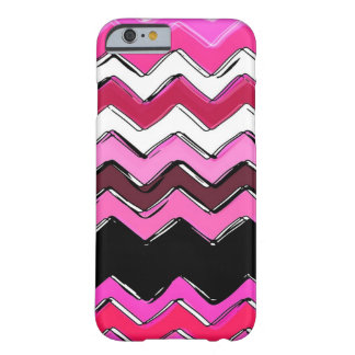 chevron rose coque iPhone 6 barely there
