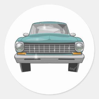 Chevy 1962 II Sticker Rond