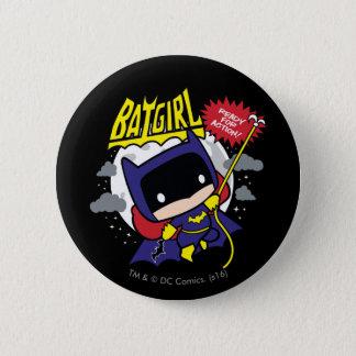 Chibi Batgirl prêt pour l'action Badges