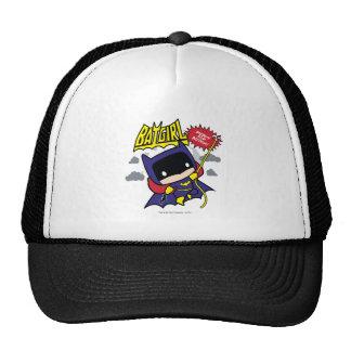 Chibi Batgirl prêt pour l'action Casquette