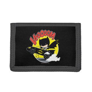 Chibi Batman dans le Batmobile