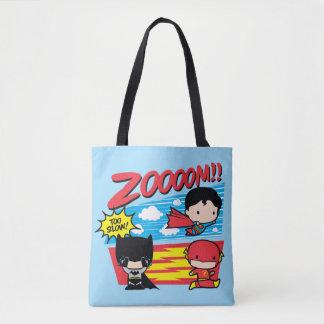 Chibi Batman trop lent ! Tote Bag