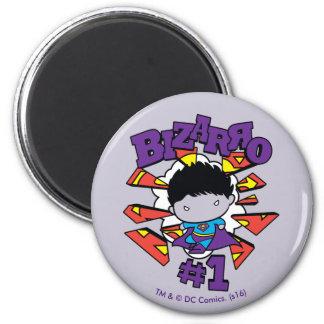Chibi Bizarro #1 Magnet Rond 8 Cm