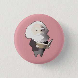 Chibi Karl Marx Badge