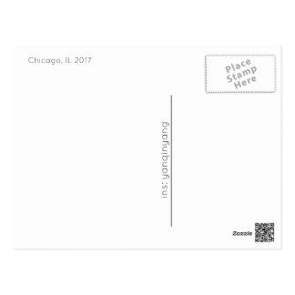 Chicago 2017 carte postale