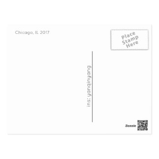 Chicago 2017 cartes postales