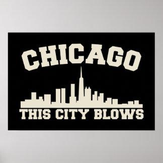 Chicago : Cette ville souffle Poster