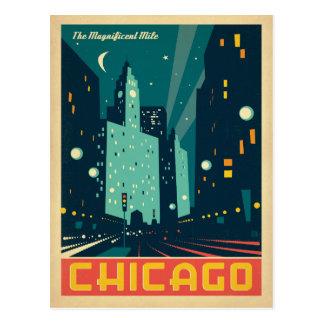 Chicago, IL - le mille magnifique 2 Cartes Postales