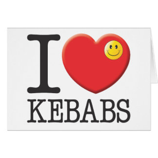 Chiches-kebabs Cartes