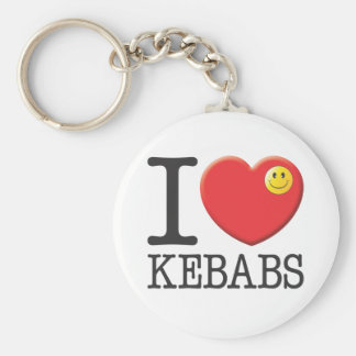 Chiches-kebabs Porte-clé Rond
