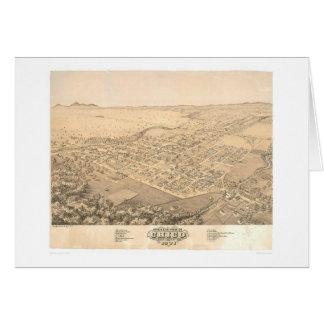 Chico, carte panoramique 1871 (0272A) de CA