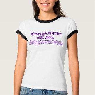 Chien adopté t-shirt