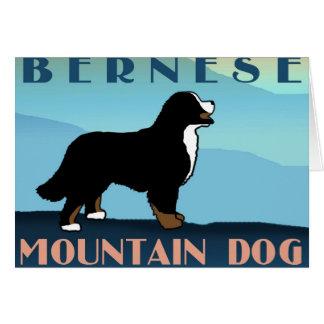 Chien bleu de Bernese de montagne Cartes