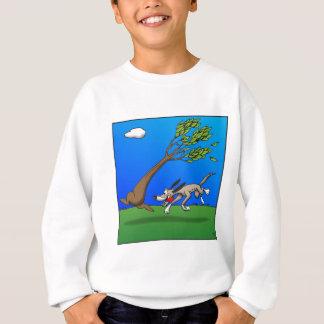 Chien comique sweatshirt
