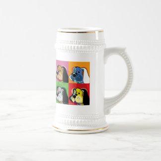 Chien d édredon d art de bruit mug à café