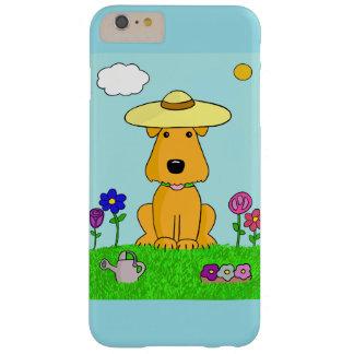Chien d'Airedale dans l'iPhone 6/6s de jardin plus Coque iPhone 6 Plus Barely There