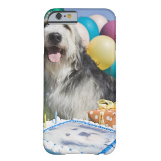 Chien d'anniversaire coque barely there iPhone 6