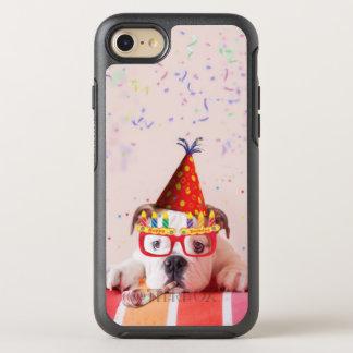 Chien d'anniversaire coque otterbox symmetry pour iPhone 7