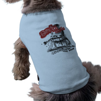 chien d'anticute t-shirt pour chien