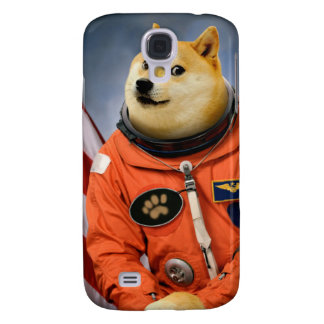 chien d'astronaute - doge - shibe - memes de doge coque galaxy s4