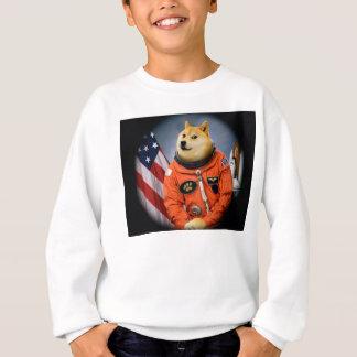 chien d'astronaute - doge - shibe - memes de doge sweatshirt