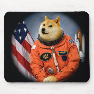 chien d'astronaute - doge - shibe - memes de doge tapis de souris