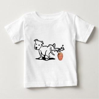 Chien d'atout t-shirt pour bébé