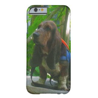 chien de basset de cas de téléphone portable coque barely there iPhone 6