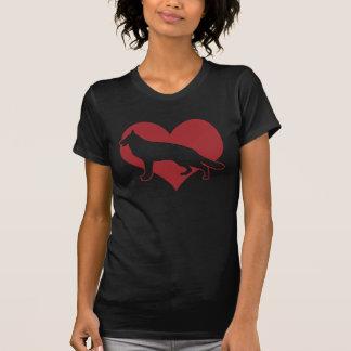 Chien de berger allemand t-shirt