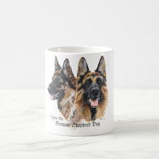 Chien de berger allemand mug à café