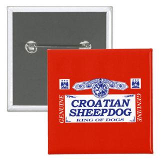 Chien de berger croate badge